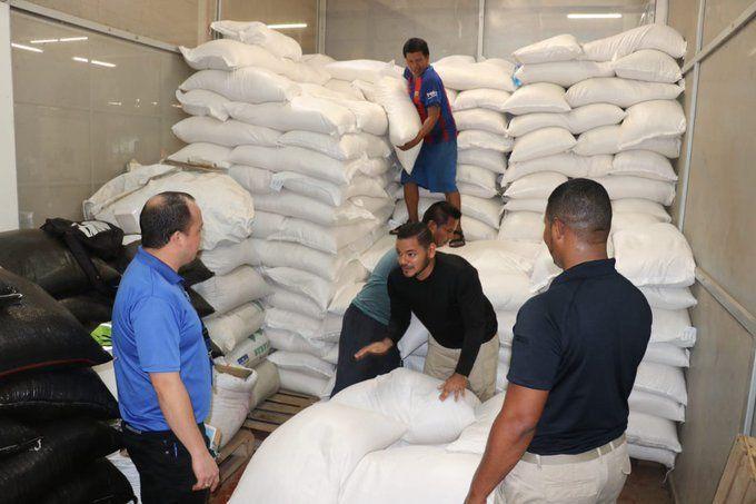 Las autoridades investigan quién importó el arroz y de dónde proviene el desembarque. Aupsa